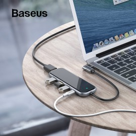 BASEUS HUB 7IN1 USB-C 3XUSB 3.0 HDMI 4K SD / TF MICRO SD PD
