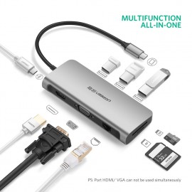 USB Type C Multifunction 9in1 Full cổng UGREEN 40873