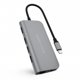 Cổng chuyển HyperDrive Power 9in1 Usb - C for Macbook,Ipad, Ultrabook & Usb-C Devices