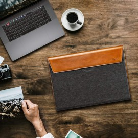 Túi chống sốc Tomtoc Premium Leather for Macbook, Surface - H15